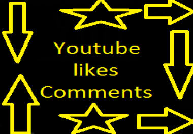 Best value available 51+ Youtube custom comments with profile picture very fast +51 Youtube likes 12-24 hours for $1
