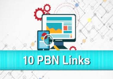 Offer 10 Permanent PBN High Metrics Contextual Backlinks