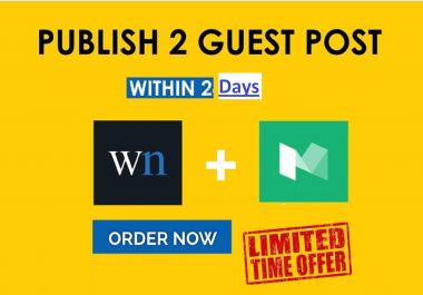 Publish A Permanent Guest Post On WN And MEDIUM DA 91