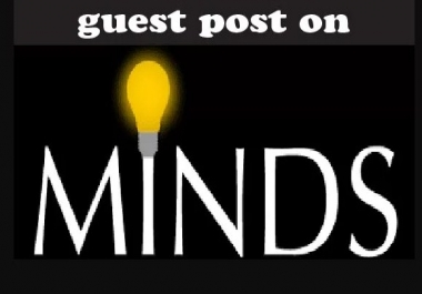 Publish Guest Post On  Minds DA-59 With Dofollow Link
