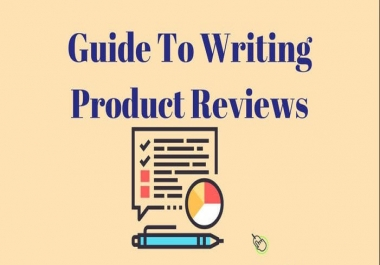 Write Product Review Or Descriptions For You