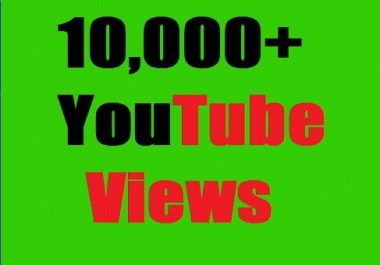 Safe 10,000+ HR YouTube Views Non Drop Refill  Guaranteed and very fast just