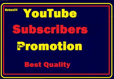 YouTube Account Promotion Basic Pack Instant Start