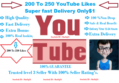 Get 100+ High Quality Real uTube Like-s Start in 1h And Fast Delivery
