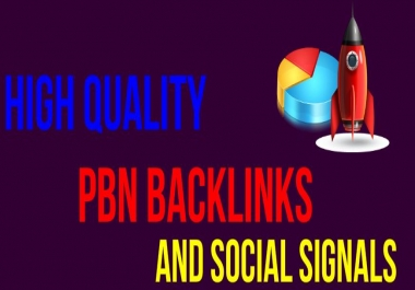 Rank on Google first page with mix of 10,000 PBN Backlinks and Social Signals