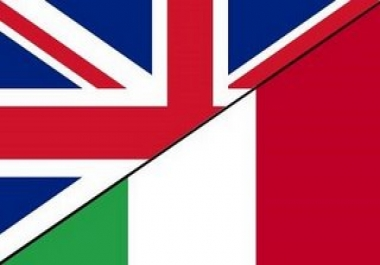 Traduzioni dall'inglese all'italiano Translate from english to italian