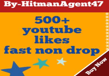 Guaranteed 500+ Youtube Video Likes Fast Non Drop