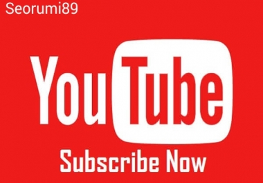 Safe 1000+ YouTube Subscribers or 1500+ YouTube likes