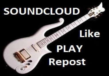1000 Soundcloud Play 100 Likes 100 Rrpost and VIRAL music promotion
