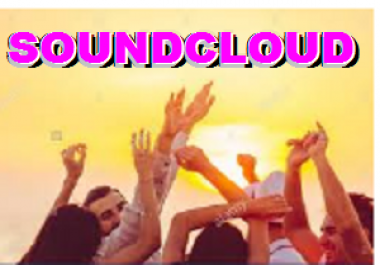 Buy 50,000 Soundcloud Plays, 40 Likes, 30 Repost  after Music release For Real Looking Promotion