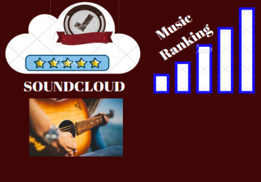 Get 5000 Soundcloud Play 200 Likes 100 Repost 100 Comments
