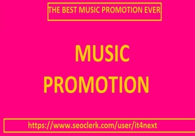 music promotion for 105K play 50 lik/es 25 repos/ts 15 comment/s