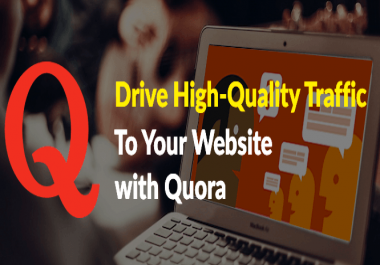 Promote your website with  Create 20 Quora answers