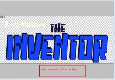 Provide 50 USA Inventors contact details
