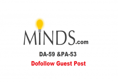 publish Guest Post on Minds with Dofollow Link [ Discount For Limited]