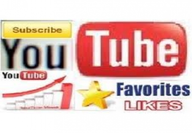 give you 500 Unique youtube view + 25 subscriber+25 like + 25 comment + 25 favorite and share also