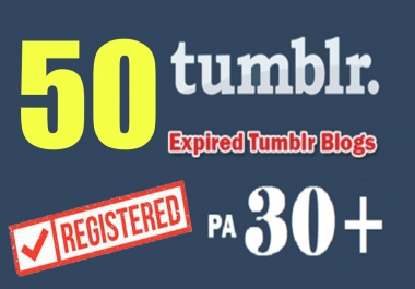 Give You 20 Expired Tumblr Pa30+