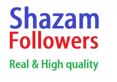 Give 200 Shazam Followers