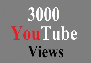 Get 1000 HQ Youtub view fast delivery