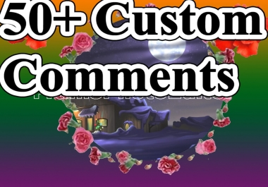 Limited Offer 40+ YT Custom Comments With Super Fast Delivery