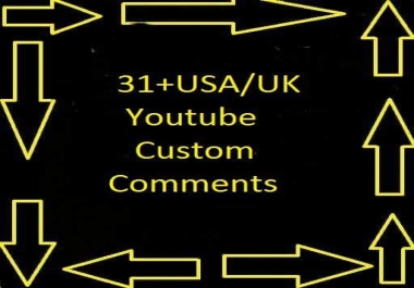 Fully safe and fast delivery 41+ Youtube custom comments +41 Youtube Channel Subscribers + 41 Shares +and 41 Likes within 12-24 hours only for $1
