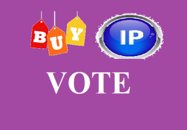 provide 125 votes Different ip votes on your poll contest