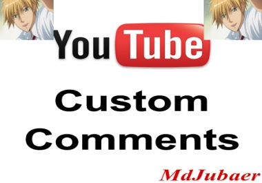 20+ Real HQ YouTube custom comment+100 video Likes