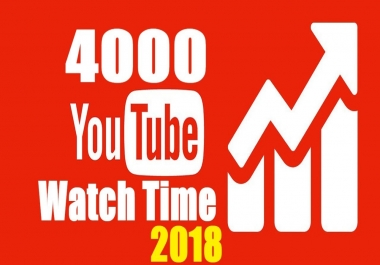 1000+ YouTube Watch Hours and Watch Times For Your Video Safe