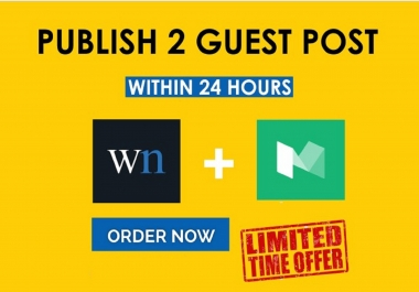 2X Publish Guest Post On WN.com DA:82+ & Medium.com DA:92+ Within 8 Hrs