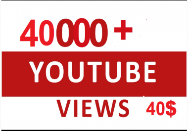 Instant Start 40000-50000+ High Retention Non Drop Views within 1-3 hours