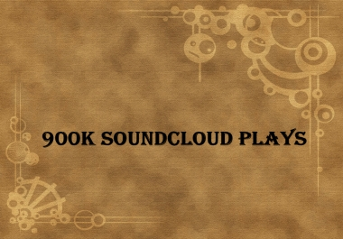 Soundcloud Blast - 900k - 900000 Best Quality Non Drop Soundcloud Plays