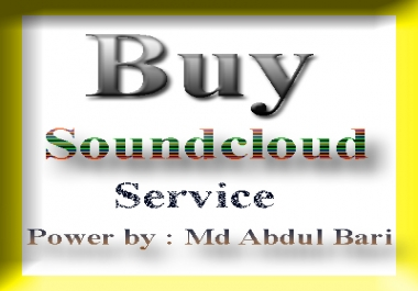 Get SoundCloud Marketing work 300,000 plays+ 2000 likes + 100 comments
