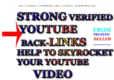 INSTANT YouTube VIDEO RANKING - Embed 444+ Quality Pr 1-4 High PA TF PR CF Do-Follow links