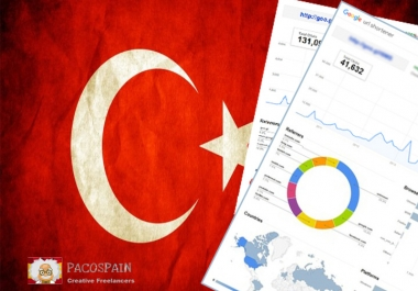 send 250 Turkey Targeted Visitors for 30 Days with low bounce rate