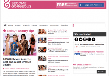 publish guest post on becomegorgeous with dofollow links