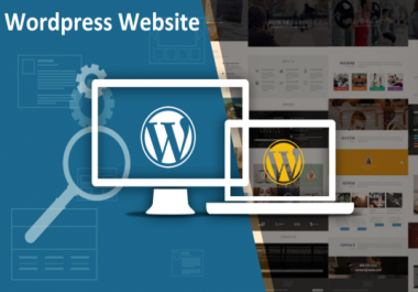 Create A Professional Wordpress Website For You