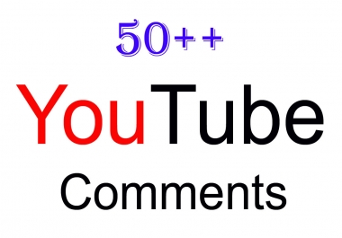 50+ High Quality YouTube Custom Comme nts Supper Fast Delivery Only
