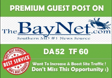 Write And Publish A Guest Post On Thebaynet .com