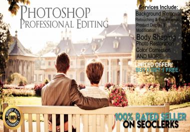 Adobe Photoshop Professional Editing, Enhancement + More!