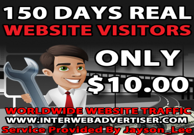 5 Months Web Traffic To Your Website, Blog or Affiliate Link