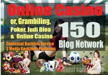 160 Casino Backlinks from Gambling, Online Casino & Poker web2.0 sites