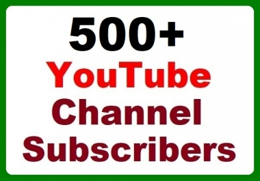 500+ YouTube accounts Promotion High-quality, Safe with affordable price