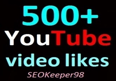 400+ YouTube video likes Offer, non-dropped guaranteed complete just within 1-2 hours