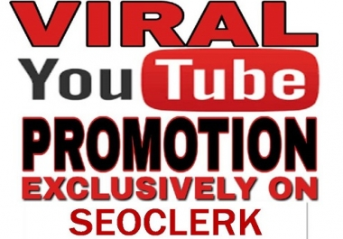 I will do viral you tube promotion