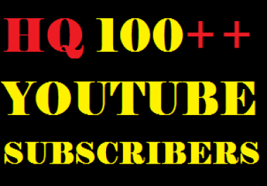 i will give you 100 ++ you tube subscribers or 200++ you tube likes fast