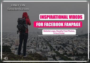 create inspirational life story for social media