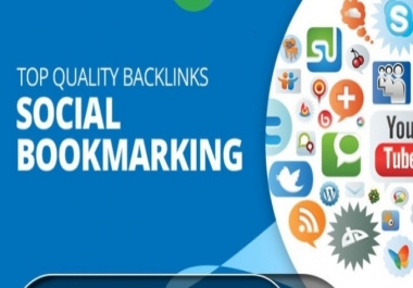 50 High Quality Social Bookmarks Backlinks