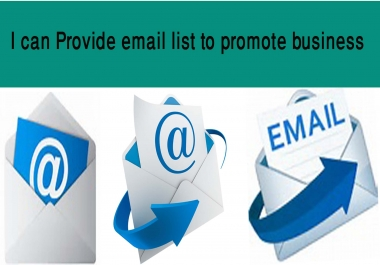 Provide 5000 Italian business email list for $5