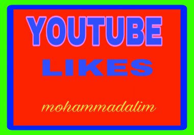 Add 1000 youtube video likes and 20 custom comments