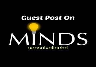 Publish Your Guest Post on Minds.com